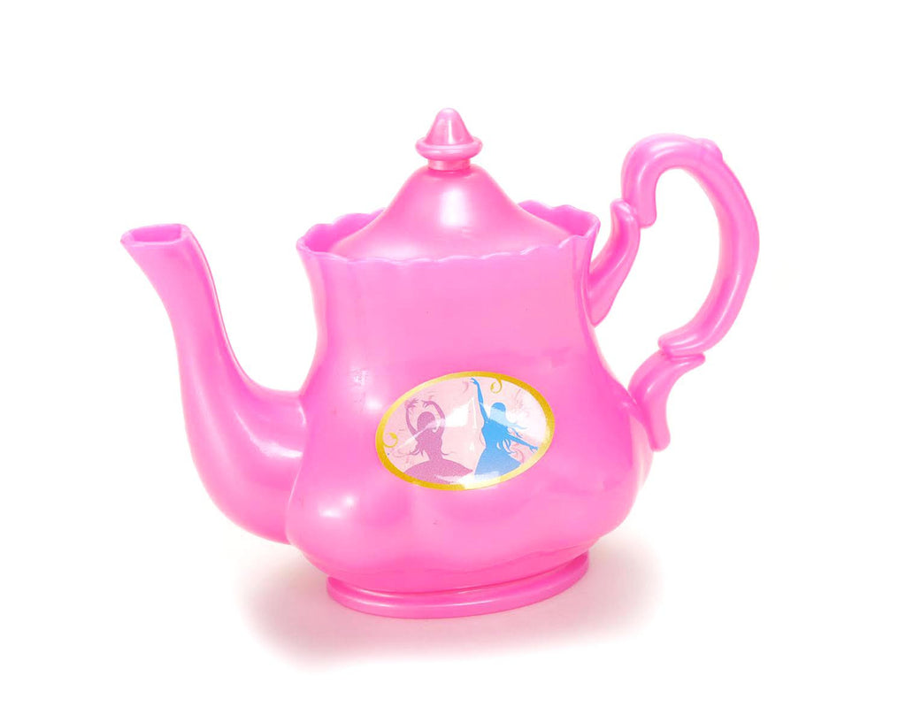 Princess Tea Party Set with Pink Tea Pots and Kitchen Utensils