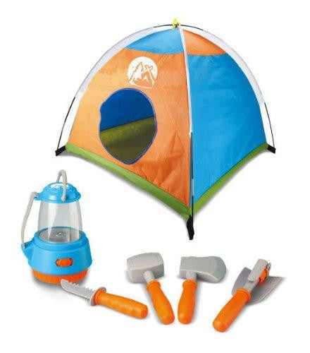 Little Explorer Camping Tent & Tools Toy Gear Playset WithLantern