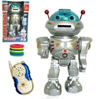 RC Dancing Robot With R-C Missile Disc Launcher