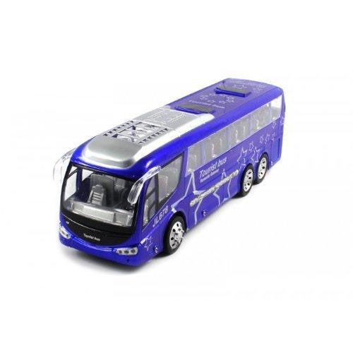 Ultimate Passenger Tourist Vacation Electric RC Bus 1:48 RTR (Blue)