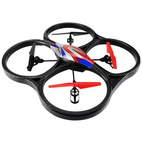 2.4Ghz 4ch V262 Big Size UFO Quadcopter with Gyro V262 Red