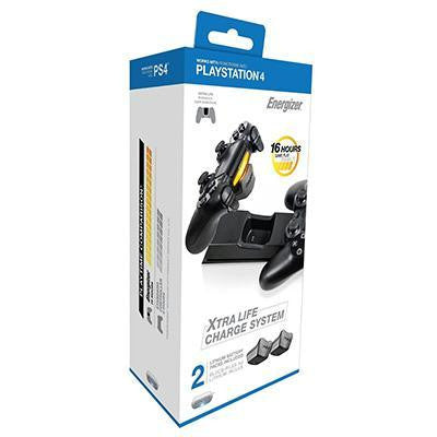 Energizer 2x Charging Sys Ps4