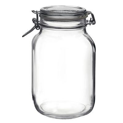 Fido Glass Jar 67.75oz 6pc