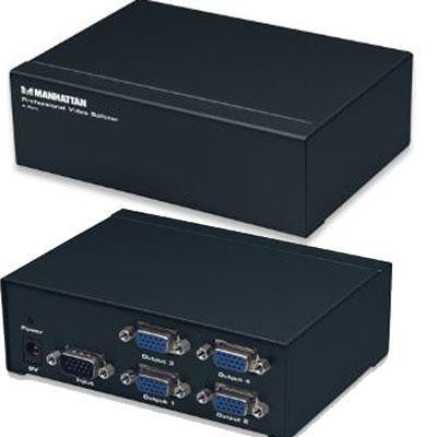 4 Port Prof Video Splitter