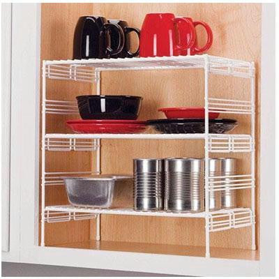 "16"" Triple Helper Shelf"