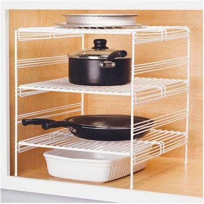 "18"" Triple Helper Shelf"