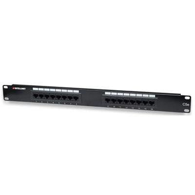16 Port Cat5e Patch Panel Utp