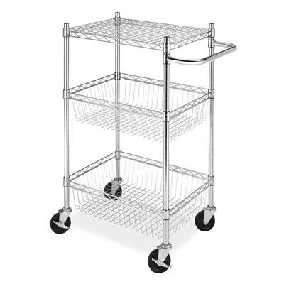 Commerical 3 Tier Basket Cart