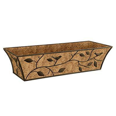 "Nature Planter Trough 24"" Brwn"