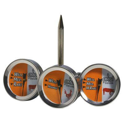 Button Thermometers Set Of 4