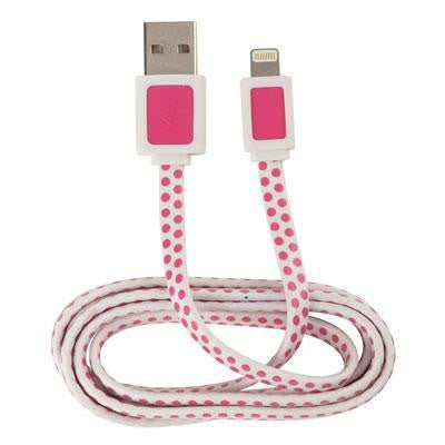 Ar USB Lightning Cable Pnk