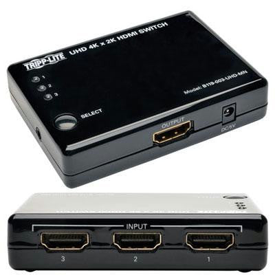 3 Pt HDMI Av Switch