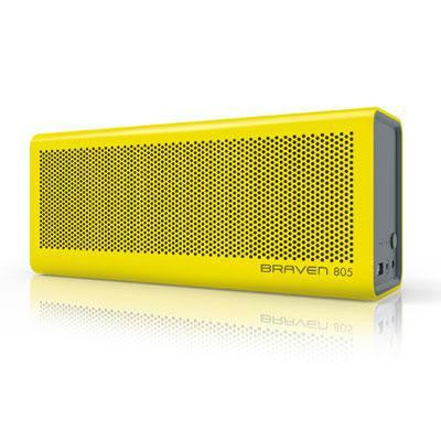 805 Blutooth Speaker Yellow Gray