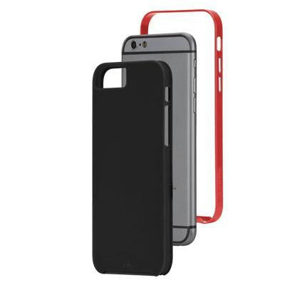 Ip6 Slim Tough Black Red