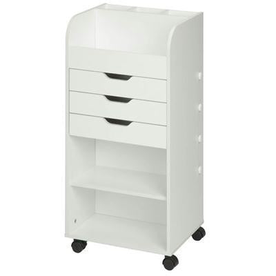 Craft Storage Cart White