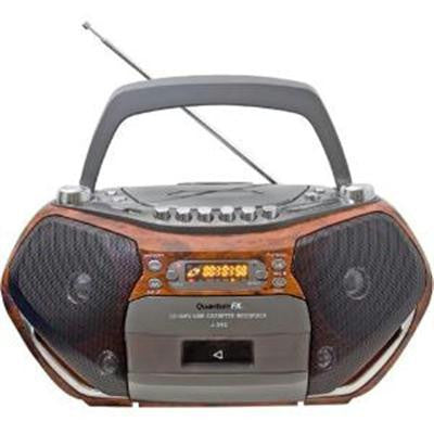 Boombox With Bluetooth Cd And Cassette