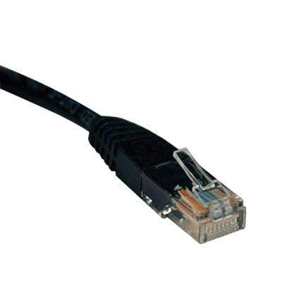 100' Cat5e 350mhz Cable Blk
