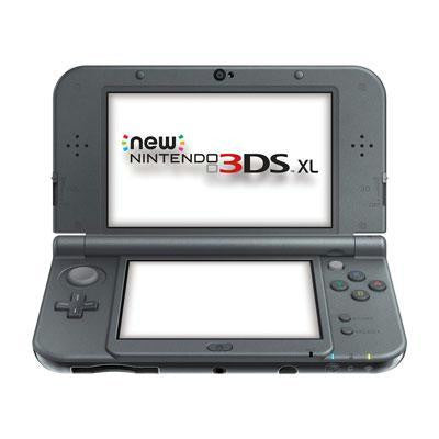 3ds Xl System New Black