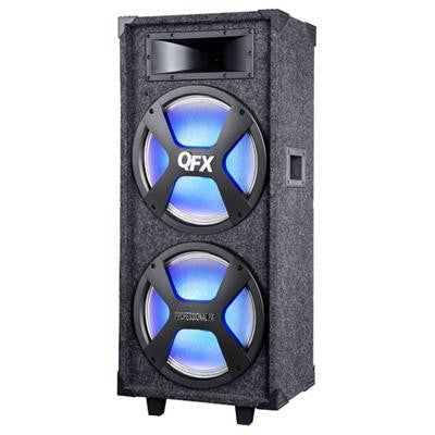 "Bt Pa Speaker With 2 12"" Woofers"