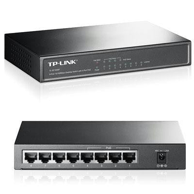 8 Port Fe Poe Desktop Switch