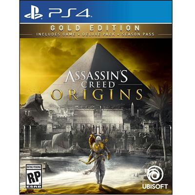 Ac Origns Gold Steelbook Ps4