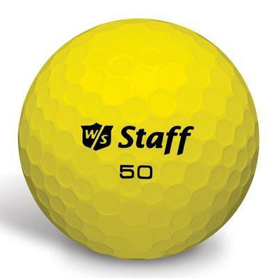 50 Elite Golf Balls Yellow