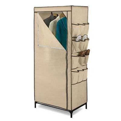 "27"" Storage Closet With Shoe Org"