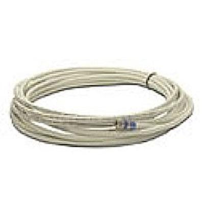 15' Rg6 Coax Extender Cable Wht