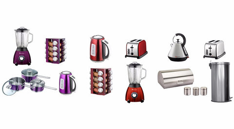 Matching kitchen collections of items