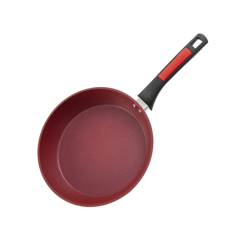 Nea Die-cast Non-stick Marble Frying Pan, Red - 20 cm
