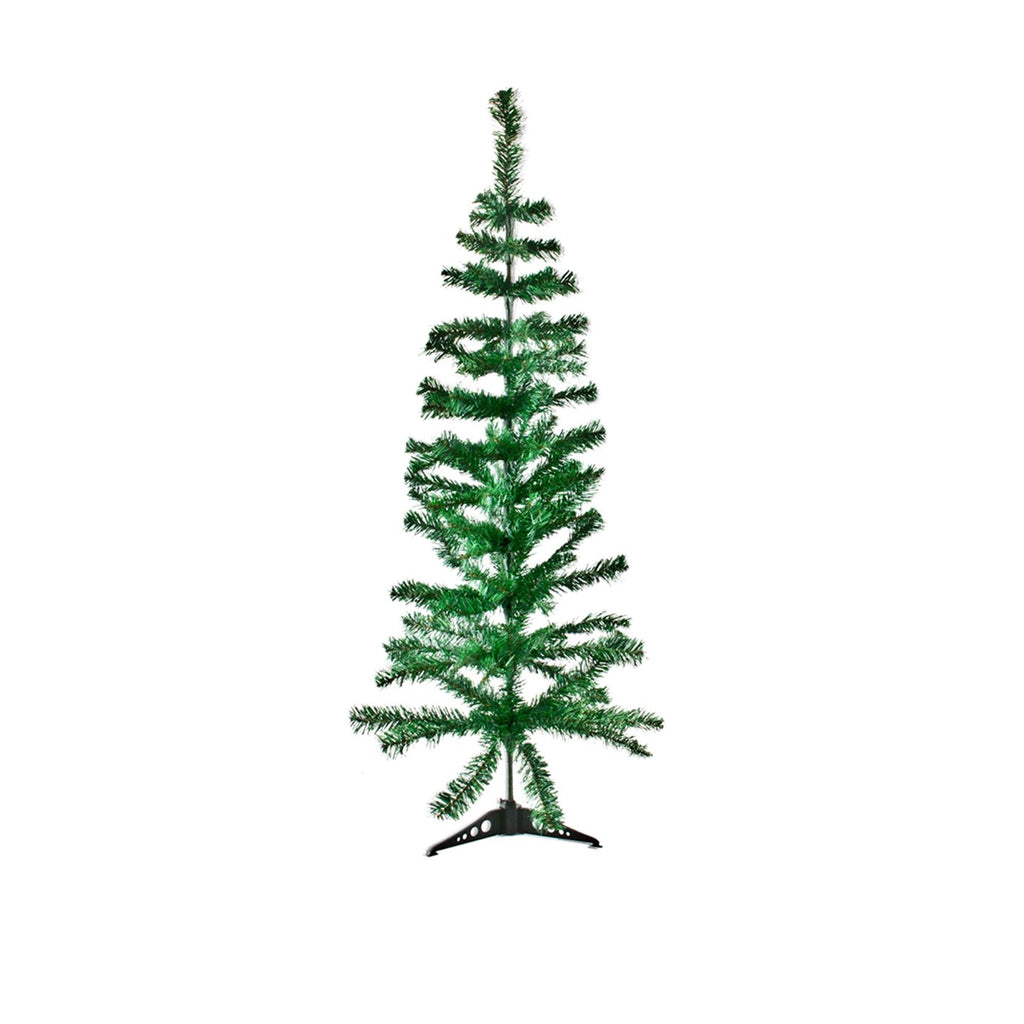 Christmas Tree Traditional Artificial Decoration Tree, Green - 120cm, 100 Tips