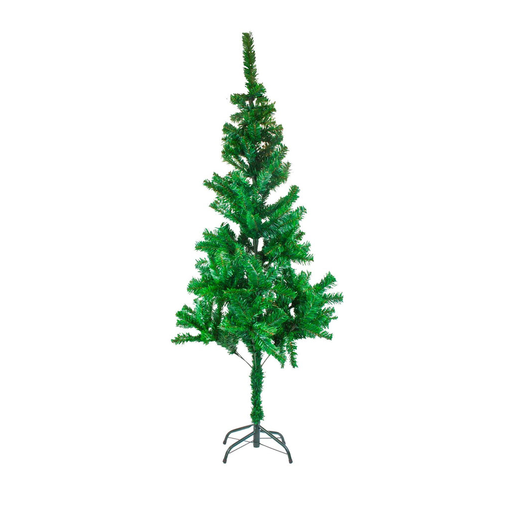 Christmas Tree Traditional Artificial Decoration Tree, Green - 150cm, 250 Tips
