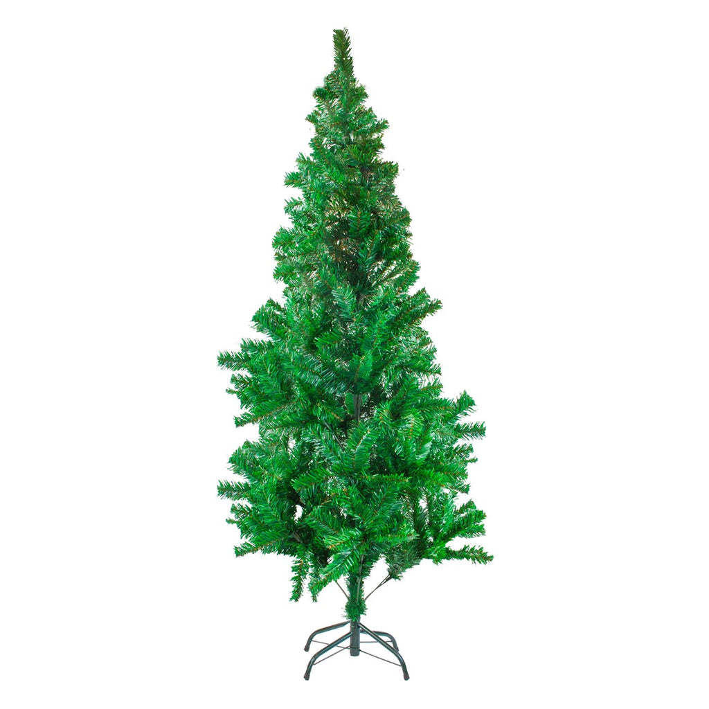 Christmas Tree Traditional Artificial Decoration Tree, Green - 180cm, 600 Tips