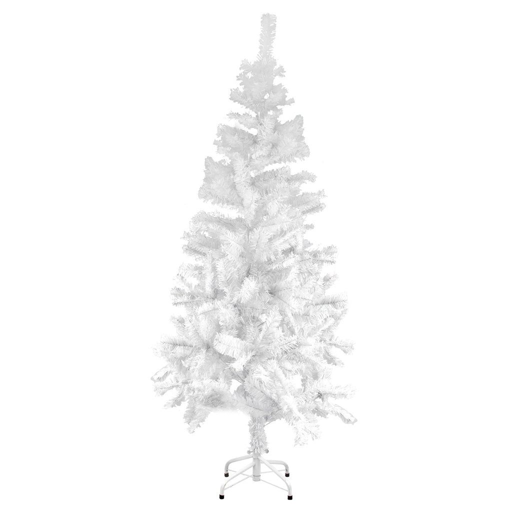 Christmas Tree Traditional Artificial Decoration Tree, White - 180cm, 400 Tips