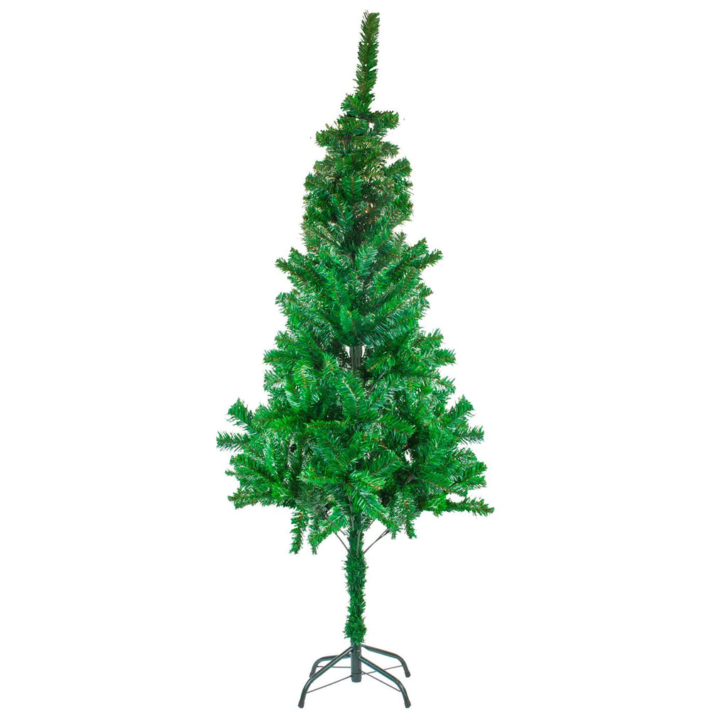 Christmas Tree Traditional Artificial Decoration Tree, Green - 210cm, 700 Tips