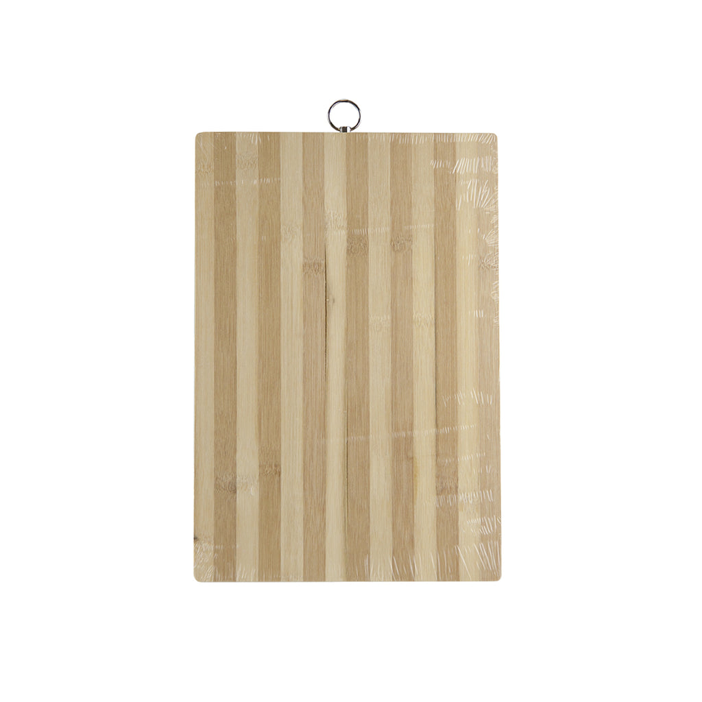 Bamboo Chopping Board, Rectangular Cutting Board - 38 cm