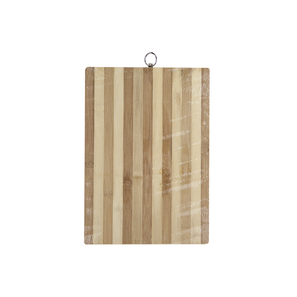 Bamboo Chopping Board, Rectangular Cutting Board - 34 cm