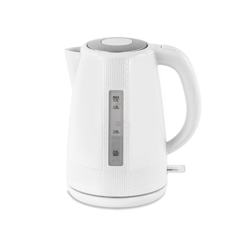Blitz Jug Electric Kettle, 1.7L 2200W Fast Boil - White