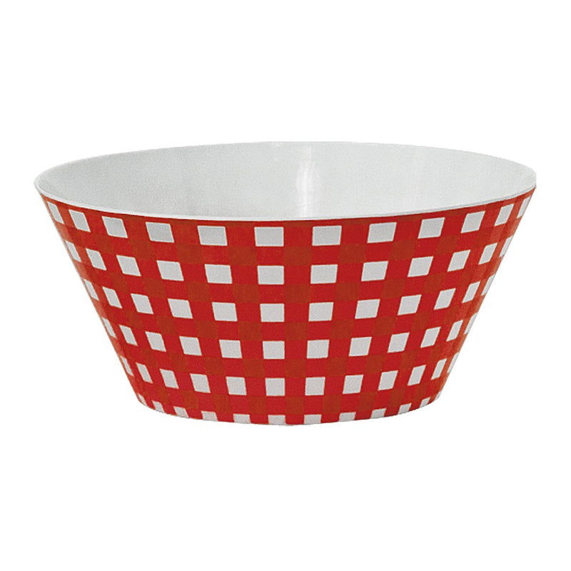 Bowls - Melamine Round Mixing Bowl - Red