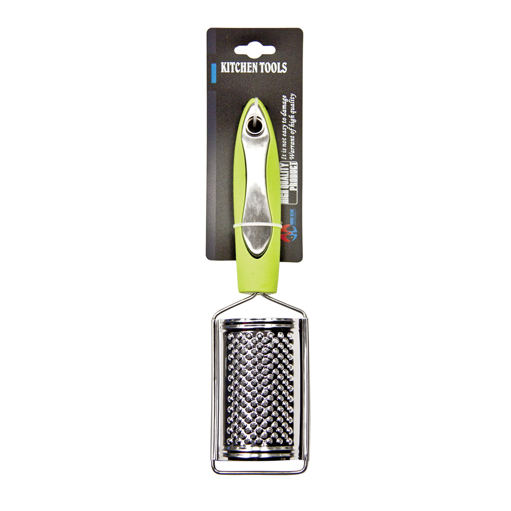 Multi-function Hand Grater with Stainless Steel Blade & Good-Grip Handle - Green