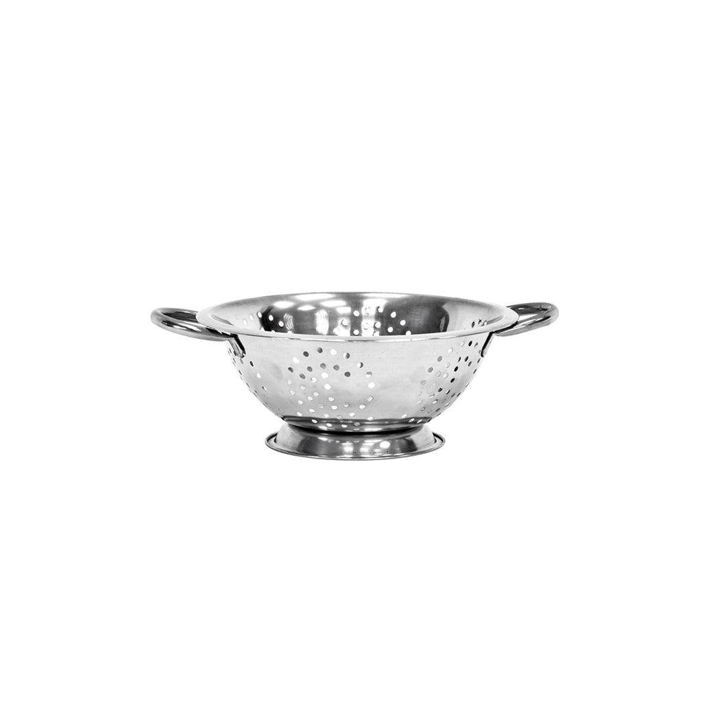 Twin Handled Colander, Stainless Steel - 20 cm