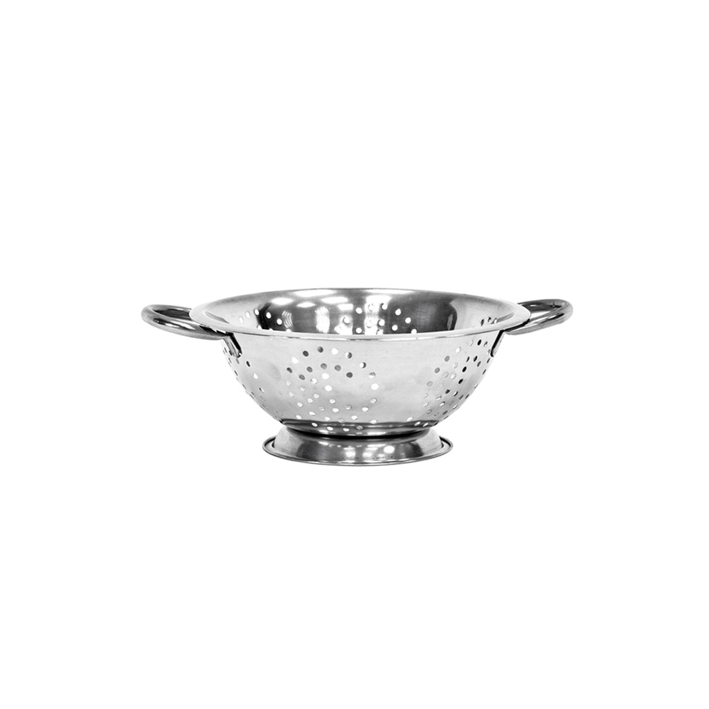 Twin Handled Colander, Stainless Steel - 24 cm
