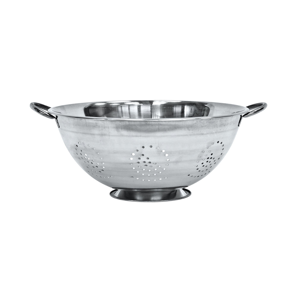 Twin Handled Colander, Stainless Steel - 40 cm