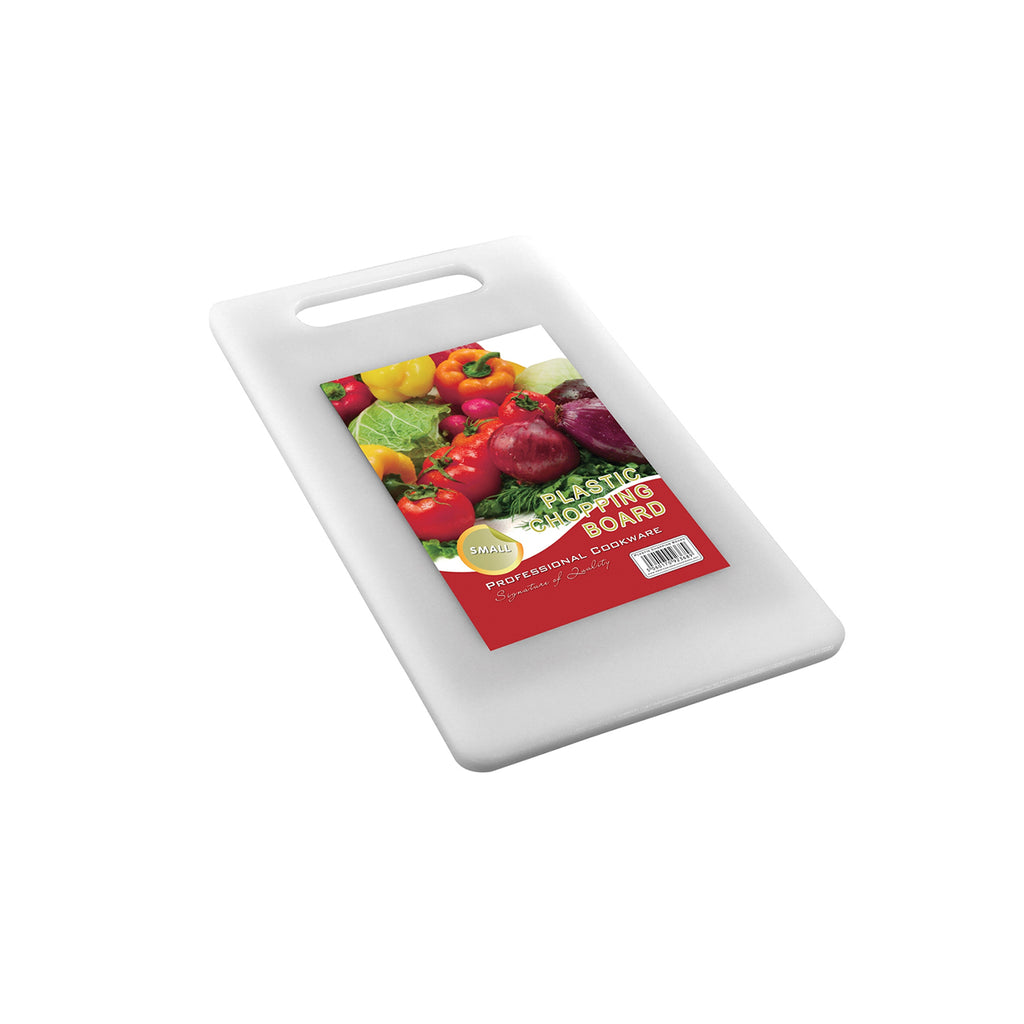 Plastic Chopping Board, Rectangular Cutting Board - 33 cm