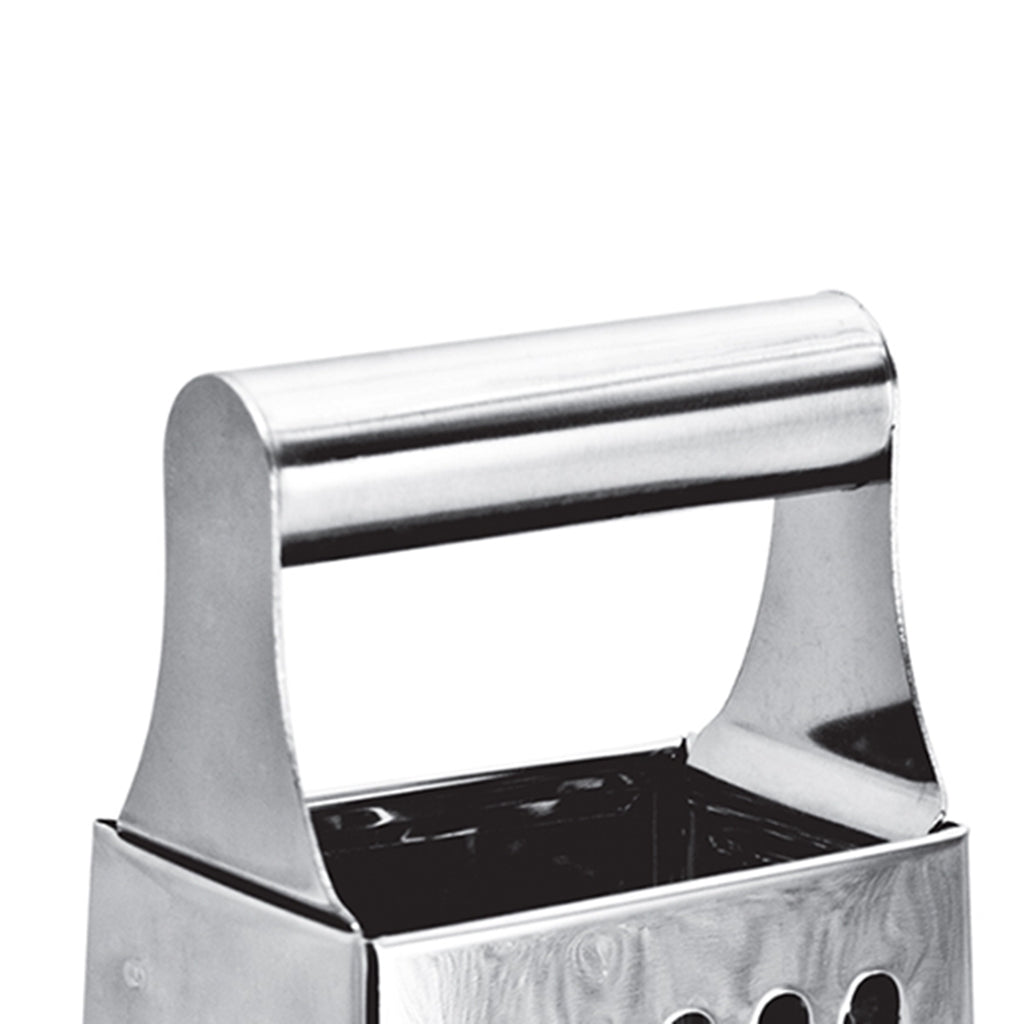 Cheese Grater - Vegetable Slicer, Stainless Steel - 4 Sided