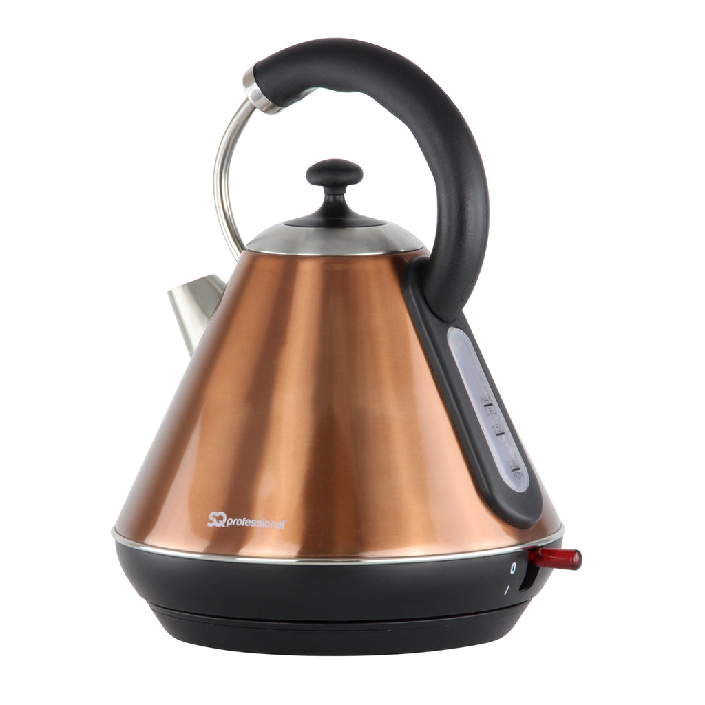 Legacy Cordless Electric Kettle, Fast Boil, 2200 W 1.8 L - Copper Colour