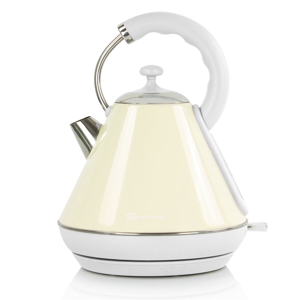 Legacy Cordless Electric Kettle, Fast Boil, 2200 W 1.8 L - Cream