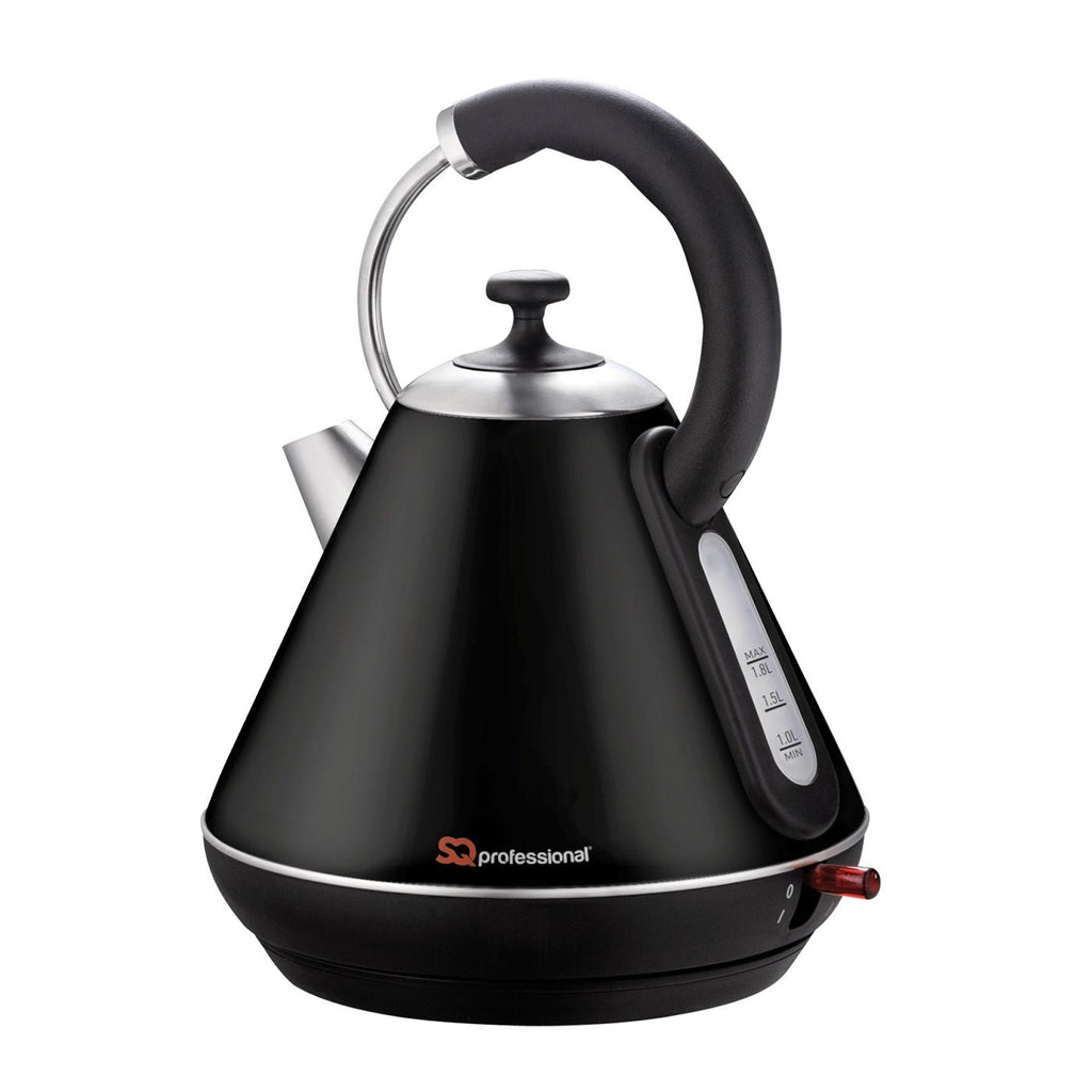 Kettles - Legacy Cordless Electric Kettle, Fast Boil, 2200W 1.8L - Black