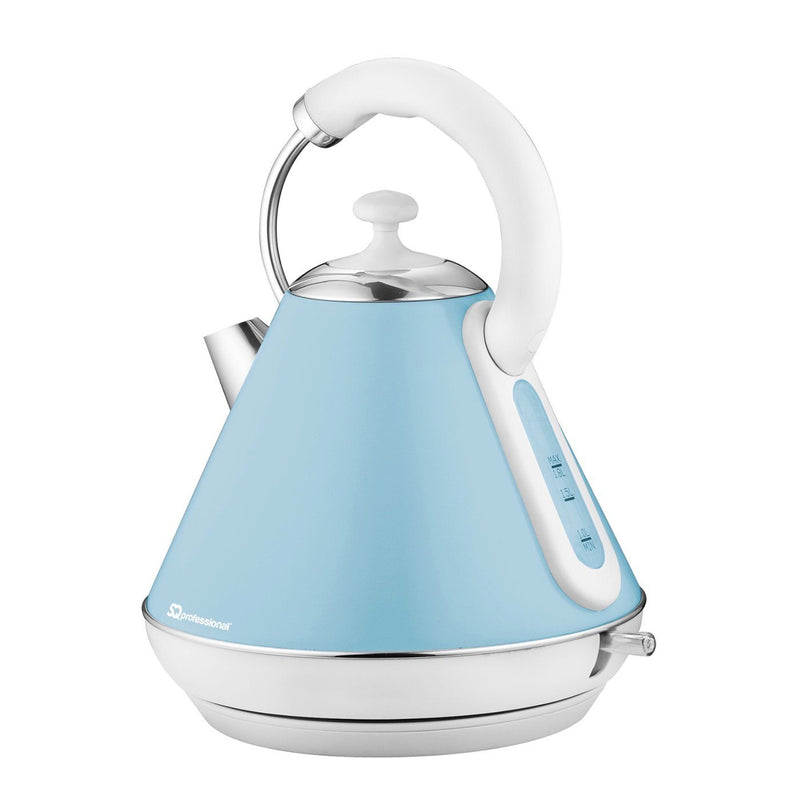 Aquen Cordless Electric Kettle, Fast Boil, 1.7L, 2200W - White