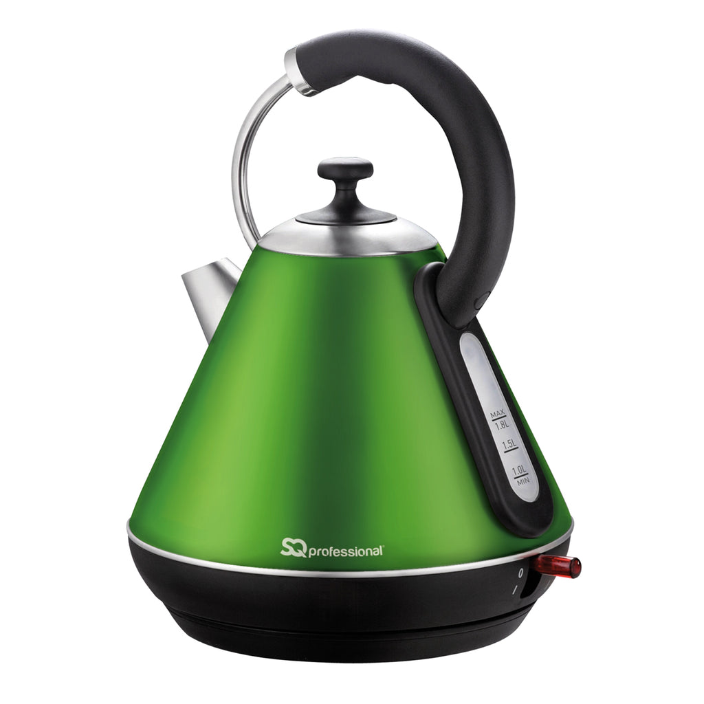 Legacy Cordless Electric Kettle, Fast Boil, 2200 W 1.8 L - Emerald Green